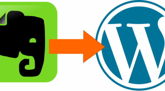evernote to wordpress